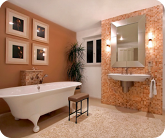 modern bathroom Modern